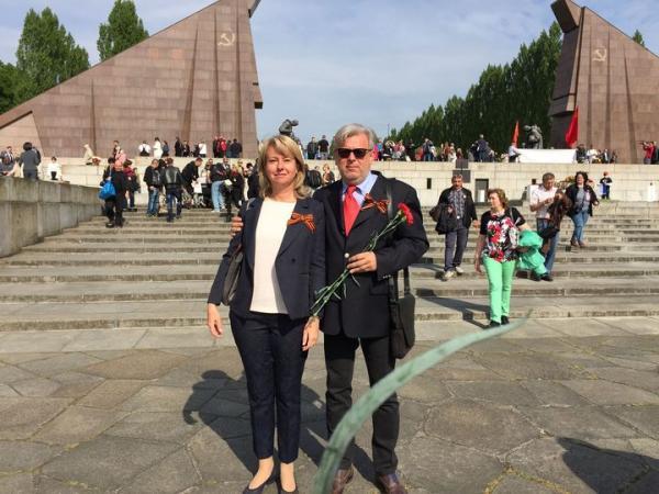 Дмитрий Куликов с женой