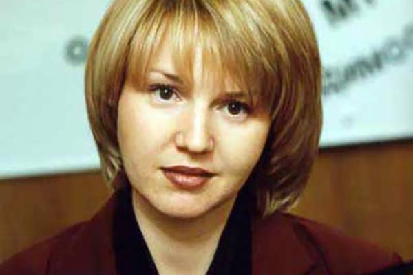 Юлия Бордовских в молодости
