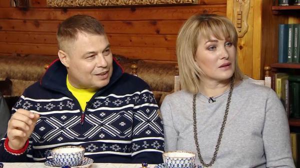 Иван Затевахин с женой